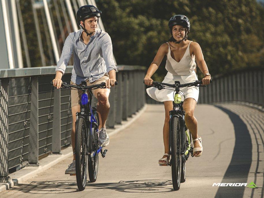 Merida and Norco e-bikes